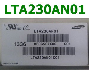 LTA230AN01 TFT LCD Label