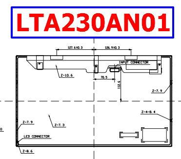 LTA230AN01 datasheet lcd samsung