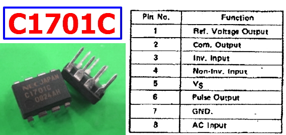 C1701C pdf datasheet pinout