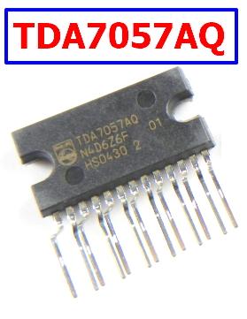 TDA7057AQ Datasheet Philips